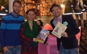 Superdupre Simon og Peder i Moods of Norway byttet gjerne boken sin mot Tivoli Redesign.